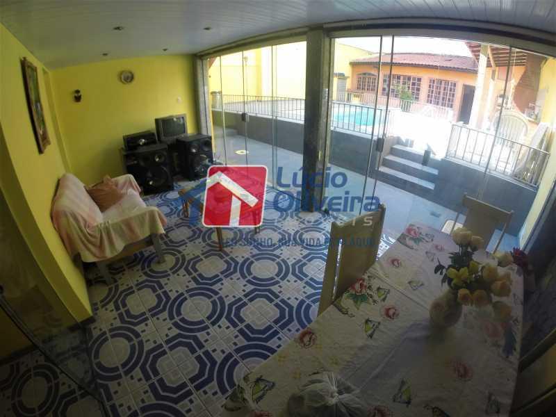20 -Varanda - Casa à venda Rua Alice Tibiriçá,Vila da Penha, Rio de Janeiro - R$ 1.500.000 - VPCA40058 - 16