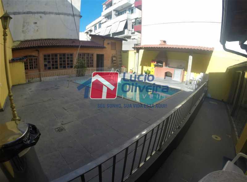 21 - Piscina - Casa à venda Rua Alice Tibiriçá,Vila da Penha, Rio de Janeiro - R$ 1.500.000 - VPCA40058 - 17
