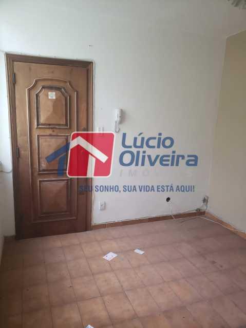 1-Sala entrada principal - Apartamento Rua Cordovil,Parada de Lucas, Rio de Janeiro, RJ À Venda, 1 Quarto, 35m² - VPAP10142 - 1
