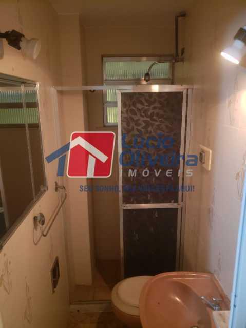 11-Banheiro social - Apartamento Rua Cordovil,Parada de Lucas, Rio de Janeiro, RJ À Venda, 1 Quarto, 35m² - VPAP10142 - 12