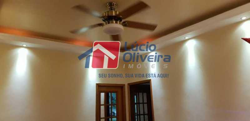 4-Iluminação indireta - Casa à venda Rua Lima Barreto,Quintino Bocaiúva, Rio de Janeiro - R$ 370.000 - VPCA20257 - 6