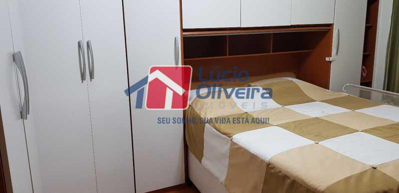 7-Quarto Casal cama moveis - Casa à venda Rua Lima Barreto,Quintino Bocaiúva, Rio de Janeiro - R$ 370.000 - VPCA20257 - 9