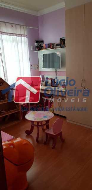 14-Quarto solteiro menina.. - Casa à venda Rua Lima Barreto,Quintino Bocaiúva, Rio de Janeiro - R$ 370.000 - VPCA20257 - 16