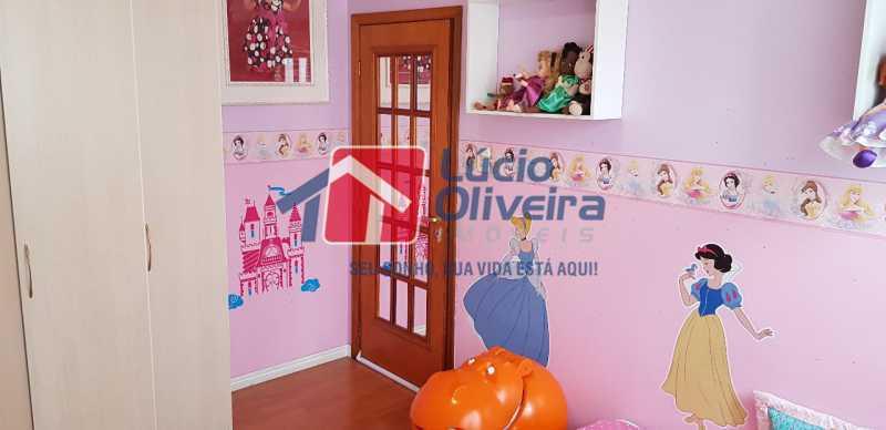 15-Quarto solteiro menina - Casa à venda Rua Lima Barreto,Quintino Bocaiúva, Rio de Janeiro - R$ 370.000 - VPCA20257 - 17