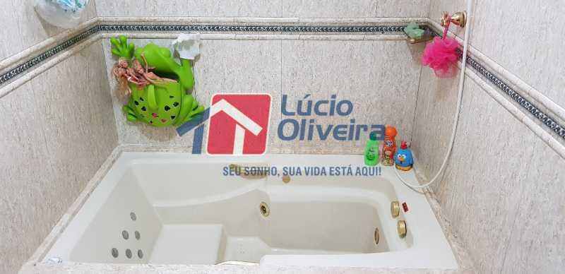 20-Banheiro suite hirdromassag - Casa à venda Rua Lima Barreto,Quintino Bocaiúva, Rio de Janeiro - R$ 370.000 - VPCA20257 - 22