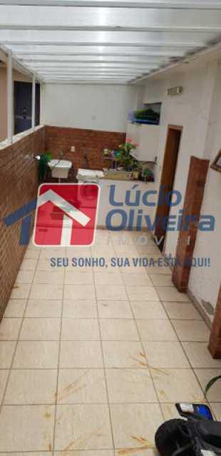 23-area serviço e lavanderia - Casa à venda Rua Lima Barreto,Quintino Bocaiúva, Rio de Janeiro - R$ 370.000 - VPCA20257 - 25
