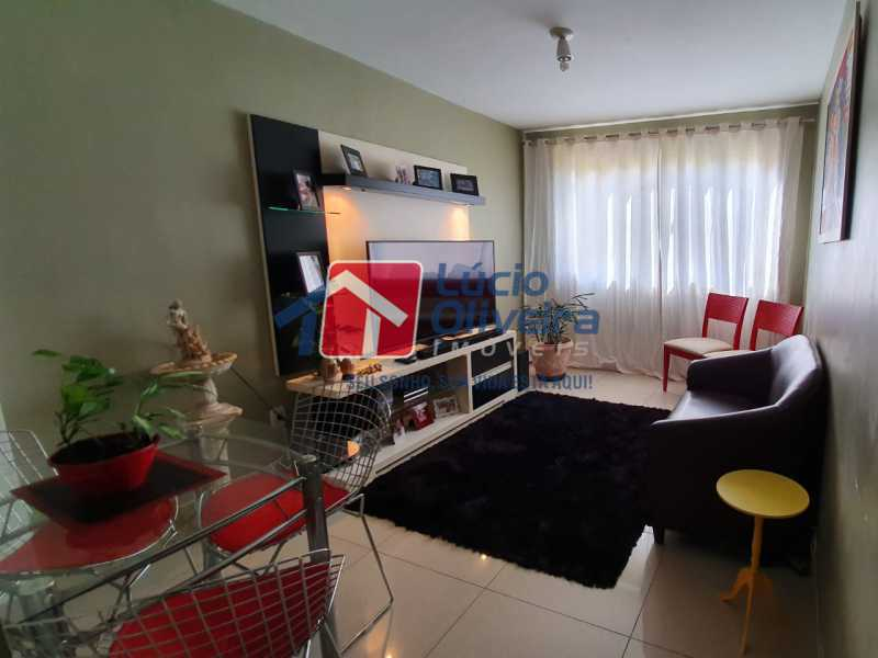1 Sala. - Apartamento Avenida Pastor Martin Luther King Jr,Inhaúma, Rio de Janeiro, RJ À Venda, 2 Quartos, 81m² - VPAP21320 - 3