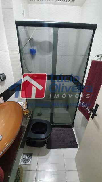 3 Banheiro social. - Apartamento Avenida Pastor Martin Luther King Jr,Inhaúma, Rio de Janeiro, RJ À Venda, 2 Quartos, 81m² - VPAP21320 - 4