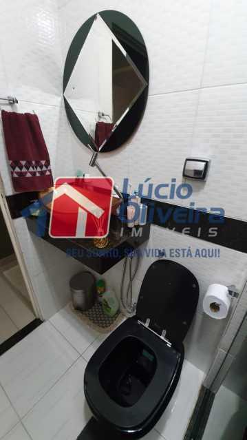4 Banheiro. - Apartamento Avenida Pastor Martin Luther King Jr,Inhaúma, Rio de Janeiro, RJ À Venda, 2 Quartos, 81m² - VPAP21320 - 5