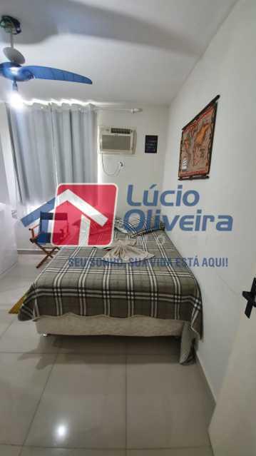 8 Quarto casal. - Apartamento Avenida Pastor Martin Luther King Jr,Inhaúma, Rio de Janeiro, RJ À Venda, 2 Quartos, 81m² - VPAP21320 - 9
