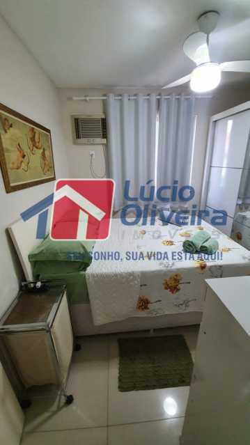 9 Quarto solteiro. - Apartamento Avenida Pastor Martin Luther King Jr,Inhaúma, Rio de Janeiro, RJ À Venda, 2 Quartos, 81m² - VPAP21320 - 10