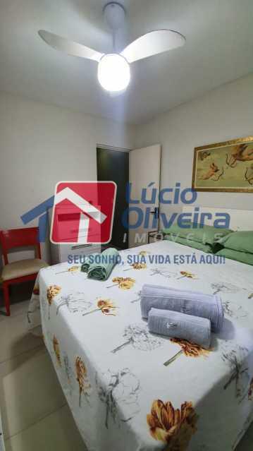 10 Quarto solteiro. - Apartamento Avenida Pastor Martin Luther King Jr,Inhaúma, Rio de Janeiro, RJ À Venda, 2 Quartos, 81m² - VPAP21320 - 11