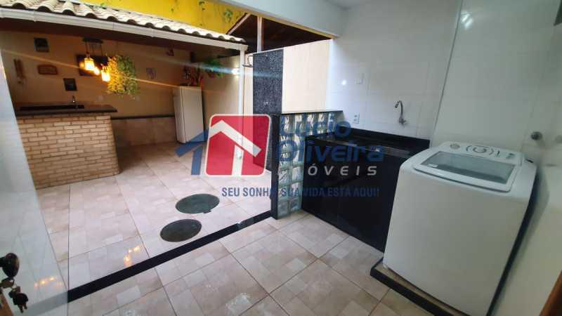 15 Área de serviço. - Apartamento Avenida Pastor Martin Luther King Jr,Inhaúma, Rio de Janeiro, RJ À Venda, 2 Quartos, 81m² - VPAP21320 - 16