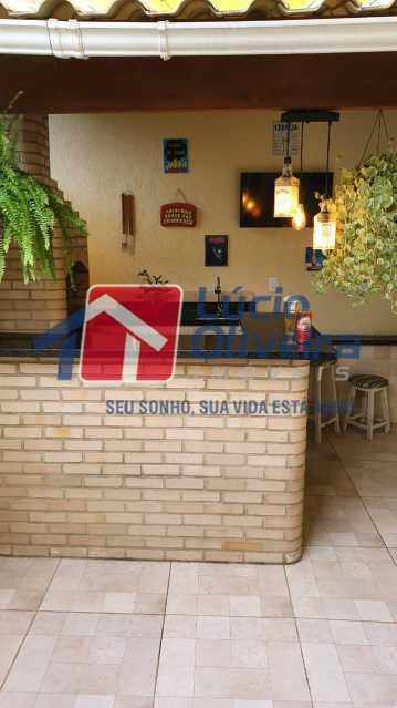 18 Área gourmet. - Apartamento Avenida Pastor Martin Luther King Jr,Inhaúma, Rio de Janeiro, RJ À Venda, 2 Quartos, 81m² - VPAP21320 - 19