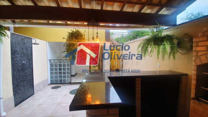 19 Área gourmet. - Apartamento Avenida Pastor Martin Luther King Jr,Inhaúma, Rio de Janeiro, RJ À Venda, 2 Quartos, 81m² - VPAP21320 - 20