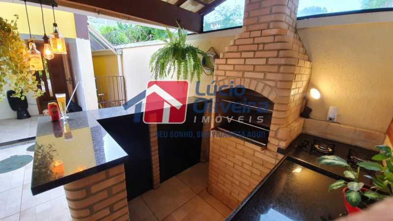 20 Área gourmet. - Apartamento Avenida Pastor Martin Luther King Jr,Inhaúma, Rio de Janeiro, RJ À Venda, 2 Quartos, 81m² - VPAP21320 - 21