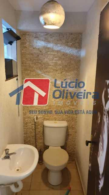 21 Banheiro. - Apartamento Avenida Pastor Martin Luther King Jr,Inhaúma, Rio de Janeiro, RJ À Venda, 2 Quartos, 81m² - VPAP21320 - 22