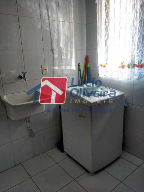 12 area. - Casa de Vila à venda Rua Barão de Melgaço,Cordovil, Rio de Janeiro - R$ 260.000 - VPCV20055 - 13