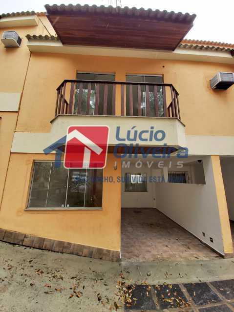 1-Frente imóvel - Casa de Vila À Venda Rua Cândido de Figueiredo,Tanque, Rio de Janeiro - R$ 339.000 - VPCV30018 - 1