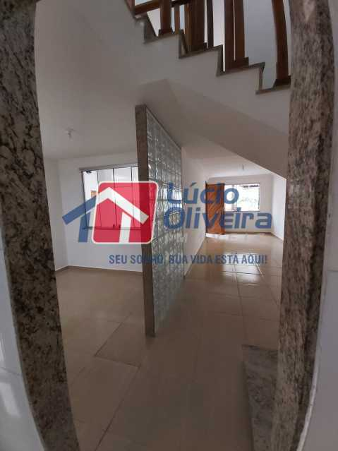 3-Sala e cozinha parede tijolo - Casa de Vila À Venda Rua Cândido de Figueiredo,Tanque, Rio de Janeiro - R$ 339.000 - VPCV30018 - 4