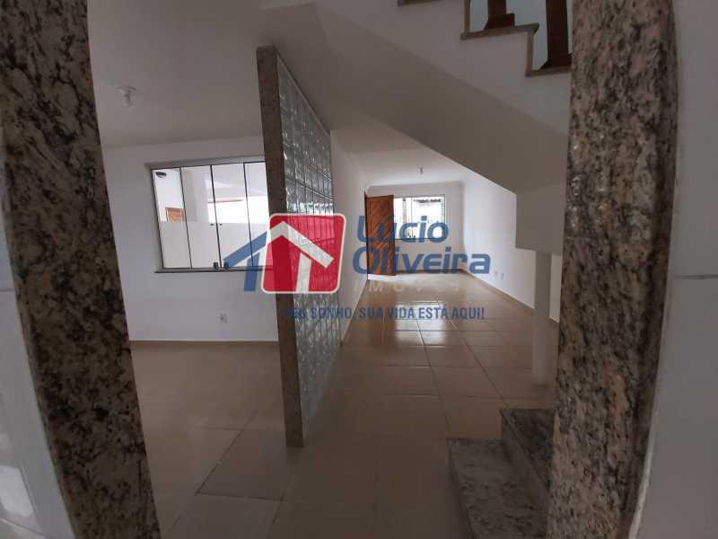 4-Sala e acesso para cozinha e - Casa de Vila À Venda Rua Cândido de Figueiredo,Tanque, Rio de Janeiro - R$ 339.000 - VPCV30018 - 5