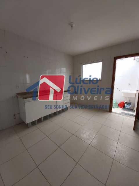 8-Cozinha ampla - Casa de Vila À Venda Rua Cândido de Figueiredo,Tanque, Rio de Janeiro - R$ 339.000 - VPCV30018 - 9