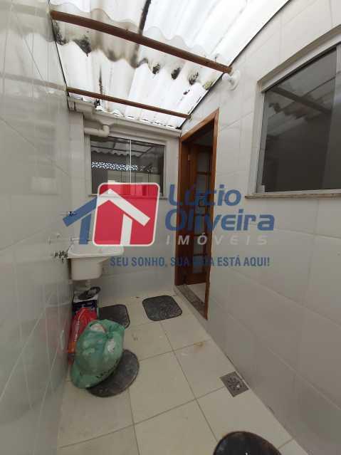 14-Lavanderia e area - Casa de Vila À Venda Rua Cândido de Figueiredo,Tanque, Rio de Janeiro - R$ 339.000 - VPCV30018 - 15