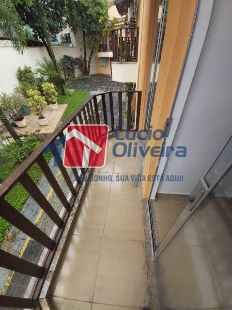 21-Varanda e jardim condominio - Casa de Vila À Venda Rua Cândido de Figueiredo,Tanque, Rio de Janeiro - R$ 339.000 - VPCV30018 - 22