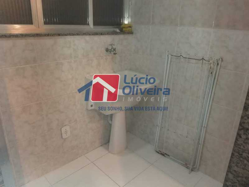 14 area serv - Apartamento à venda Rua Pedro de Carvalho,Méier, Rio de Janeiro - R$ 260.000 - VPAP21325 - 15