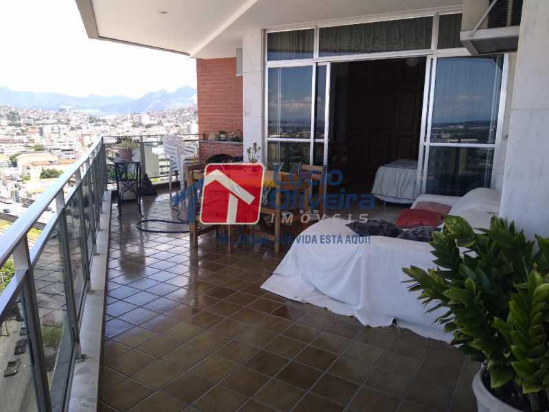 26VARANDA. - Apartamento à venda Rua Leopoldina Rego,Olaria, Rio de Janeiro - R$ 689.000 - VPAP30384 - 8