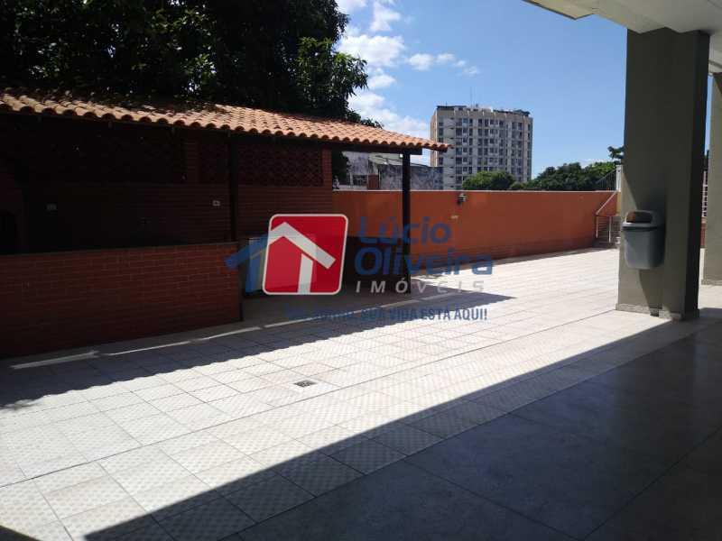 30CHURRASQUEIRA PLAY. - Apartamento à venda Rua Leopoldina Rego,Olaria, Rio de Janeiro - R$ 689.000 - VPAP30384 - 30