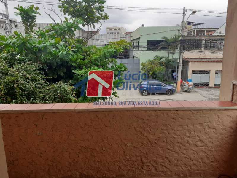 14 sacada do quarto. - Casa Rua Guatemala,Penha, Rio de Janeiro, RJ À Venda, 3 Quartos, 207m² - VPCA30187 - 15