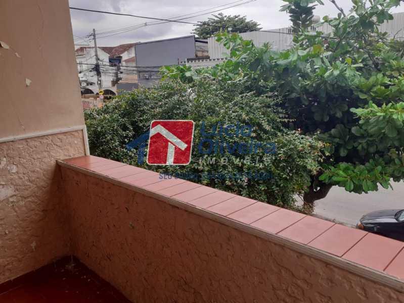 17 sacada varanda. - Casa Rua Guatemala,Penha, Rio de Janeiro, RJ À Venda, 3 Quartos, 207m² - VPCA30187 - 18