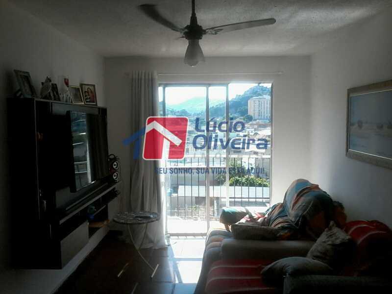 2-Sala 2 ambientes varanda - Apartamento 2 quartos à venda Piedade, Rio de Janeiro - R$ 185.000 - VPAP21326 - 1