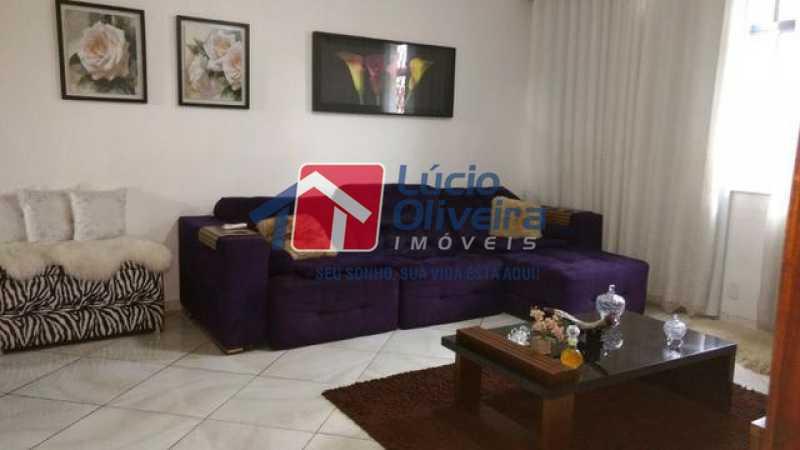 1-Sala 2 ambientes. - Casa 3 quartos à venda Higienópolis, Rio de Janeiro - R$ 690.000 - VPCA30188 - 1
