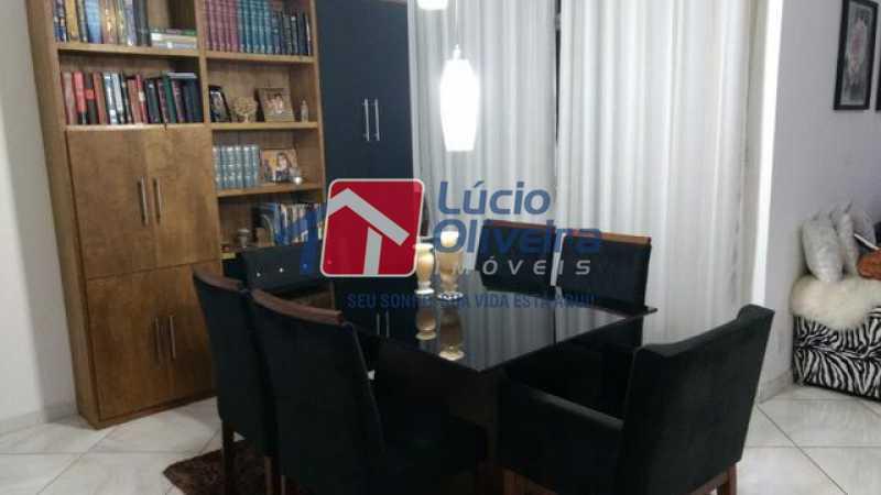 3-Sala jantar - Casa 3 quartos à venda Higienópolis, Rio de Janeiro - R$ 690.000 - VPCA30188 - 4