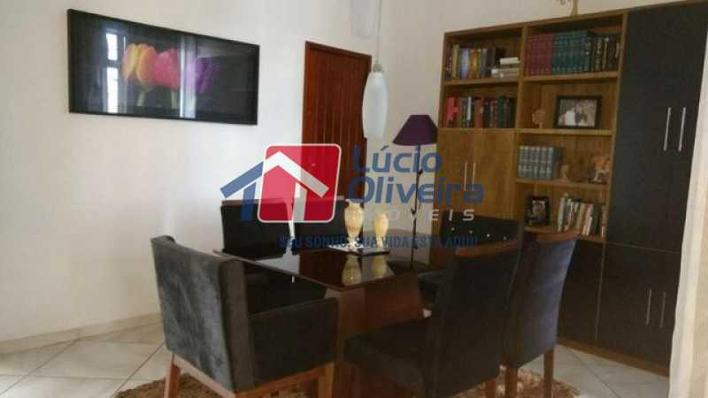 5-Sala jantar 2 - Casa 3 quartos à venda Higienópolis, Rio de Janeiro - R$ 690.000 - VPCA30188 - 6