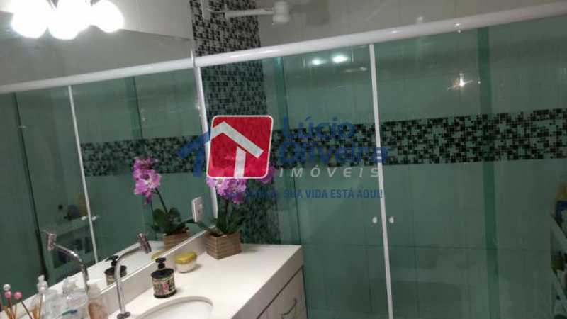 12-Banheiro blindex - Casa 3 quartos à venda Higienópolis, Rio de Janeiro - R$ 690.000 - VPCA30188 - 13