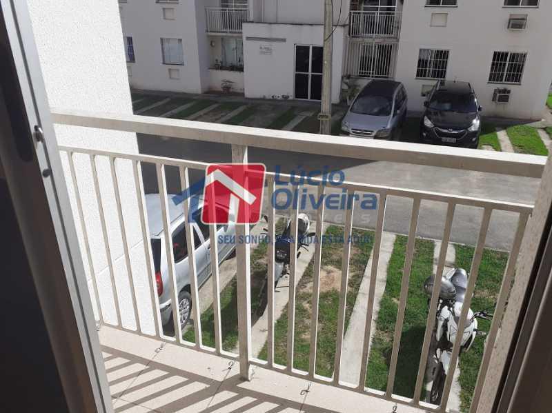 17- Varanda - Apartamento Pavuna, Rio de Janeiro, RJ À Venda, 2 Quartos, 55m² - VPAP21335 - 18