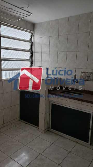 8-Cozinha e area serviço - Apartamento 2 quartos à venda Inhaúma, Rio de Janeiro - R$ 155.000 - VPAP21370 - 9