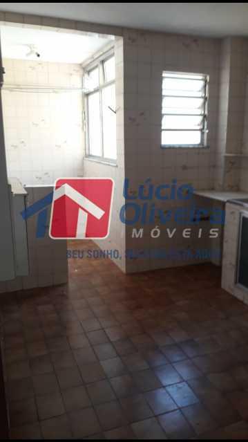 9-Cozinha e area - Apartamento Cascadura, Rio de Janeiro, RJ À Venda, 2 Quartos, 55m² - VPAP21401 - 10