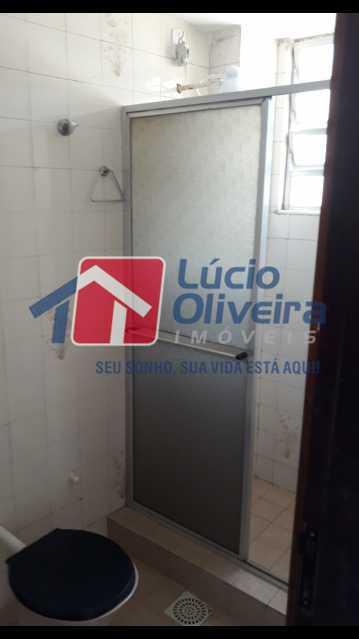12-Banheiro social - Apartamento Cascadura, Rio de Janeiro, RJ À Venda, 2 Quartos, 55m² - VPAP21401 - 13