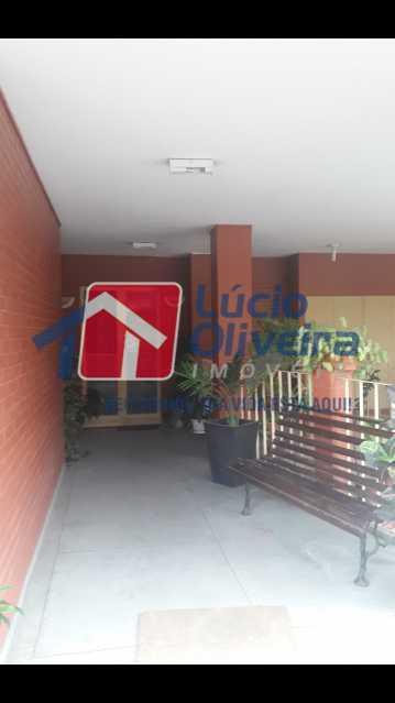 14-Prédio entrada - Apartamento Cascadura, Rio de Janeiro, RJ À Venda, 2 Quartos, 55m² - VPAP21401 - 15