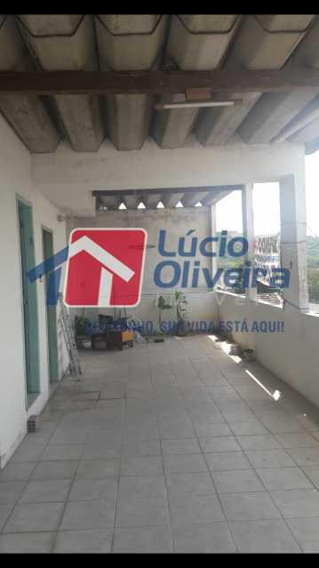 14 terraço. - Casa de Vila 3 quartos à venda Quintino Bocaiúva, Rio de Janeiro - R$ 185.000 - VPCV30019 - 15