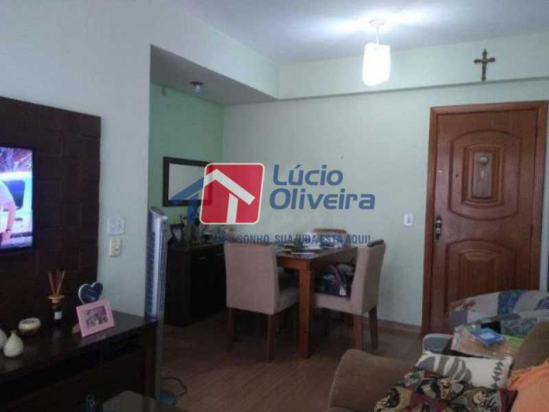 3 sala. - Apartamento Todos os Santos, Rio de Janeiro, RJ À Venda, 2 Quartos, 65m² - VPAP21402 - 4