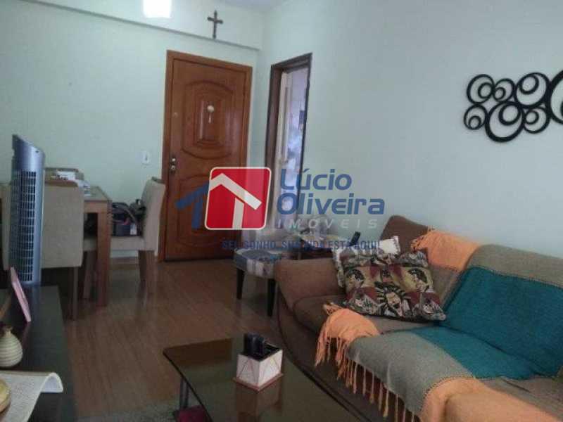 4 sala. - Apartamento Todos os Santos, Rio de Janeiro, RJ À Venda, 2 Quartos, 65m² - VPAP21402 - 5