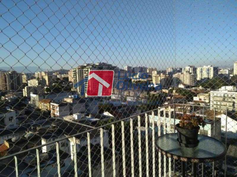 14 varanda. - Apartamento Todos os Santos, Rio de Janeiro, RJ À Venda, 2 Quartos, 65m² - VPAP21402 - 15