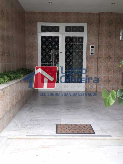 01 - Entrada do Prédio - Apartamento Rua do Cajá,Penha, Rio de Janeiro, RJ À Venda, 2 Quartos, 71m² - VPAP21406 - 1