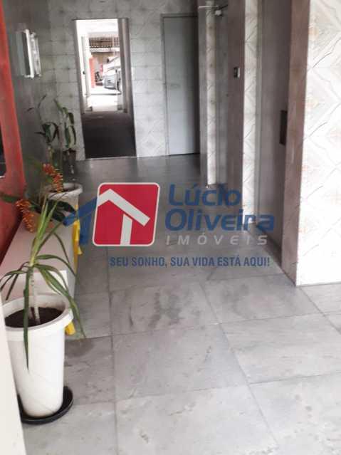 03- Hall do Prédio - Apartamento Rua do Cajá,Penha, Rio de Janeiro, RJ À Venda, 2 Quartos, 71m² - VPAP21406 - 4
