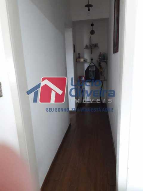 07- Circulação - Apartamento Rua do Cajá,Penha, Rio de Janeiro, RJ À Venda, 2 Quartos, 71m² - VPAP21406 - 9